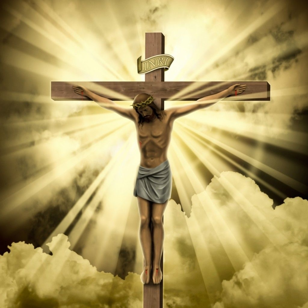 b>jesus</b> <b>on the cross</b> - free large <b>images</b> | jesus