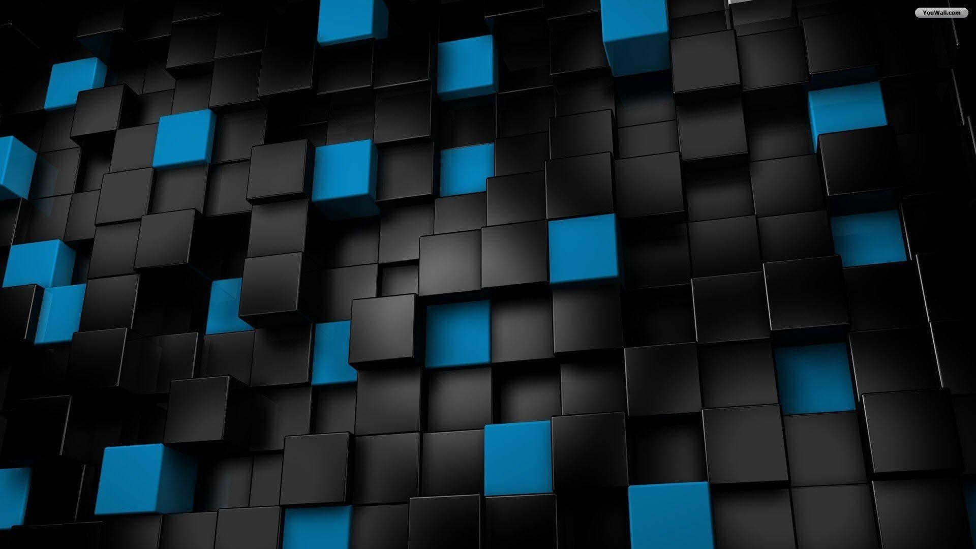 10 New Cool Black And Blue Wallpaper FULL HD 1920×1080 For PC Desktop