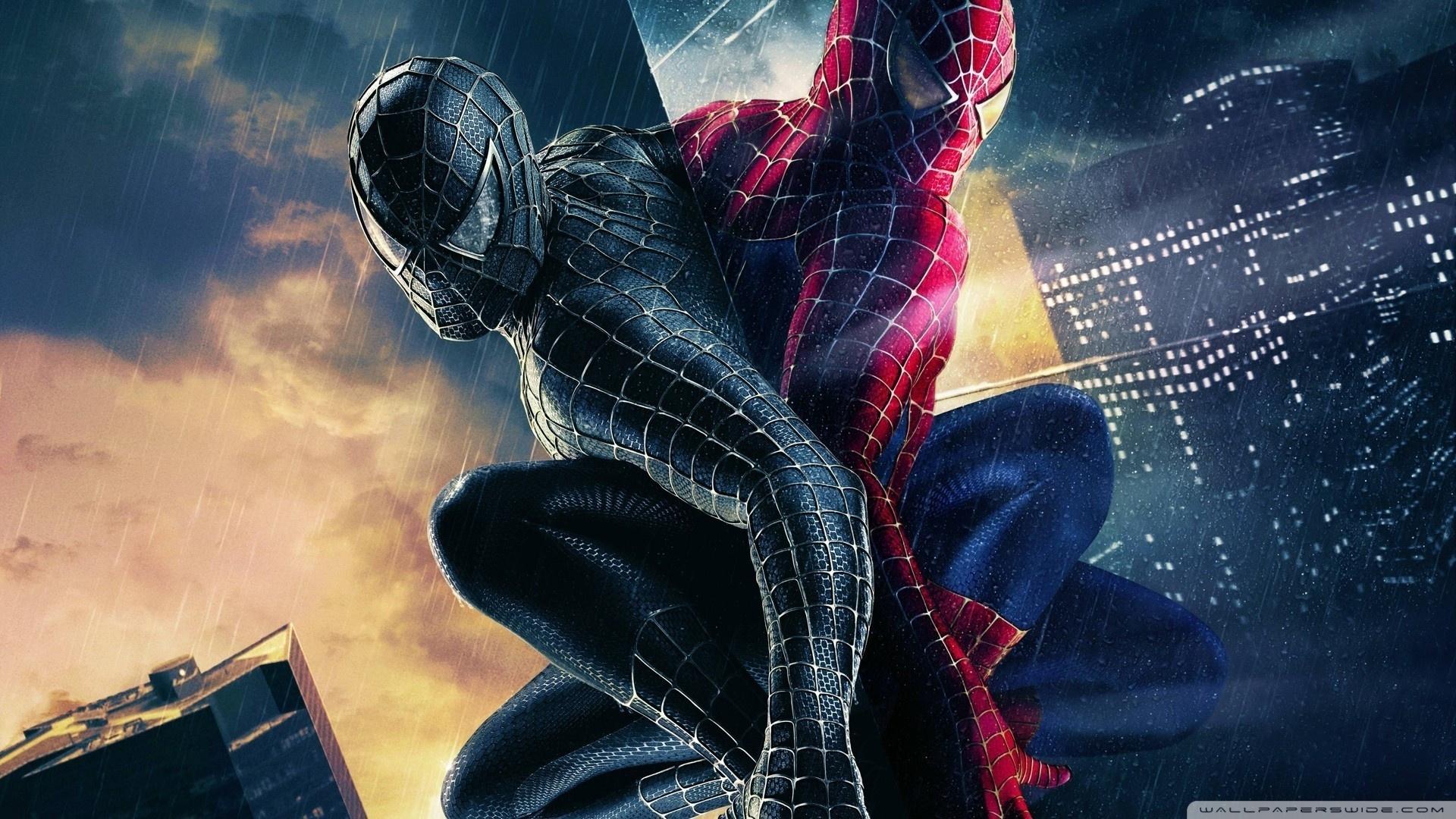 black and colored spiderman ❤ 4k hd desktop wallpaper for 4k ultra