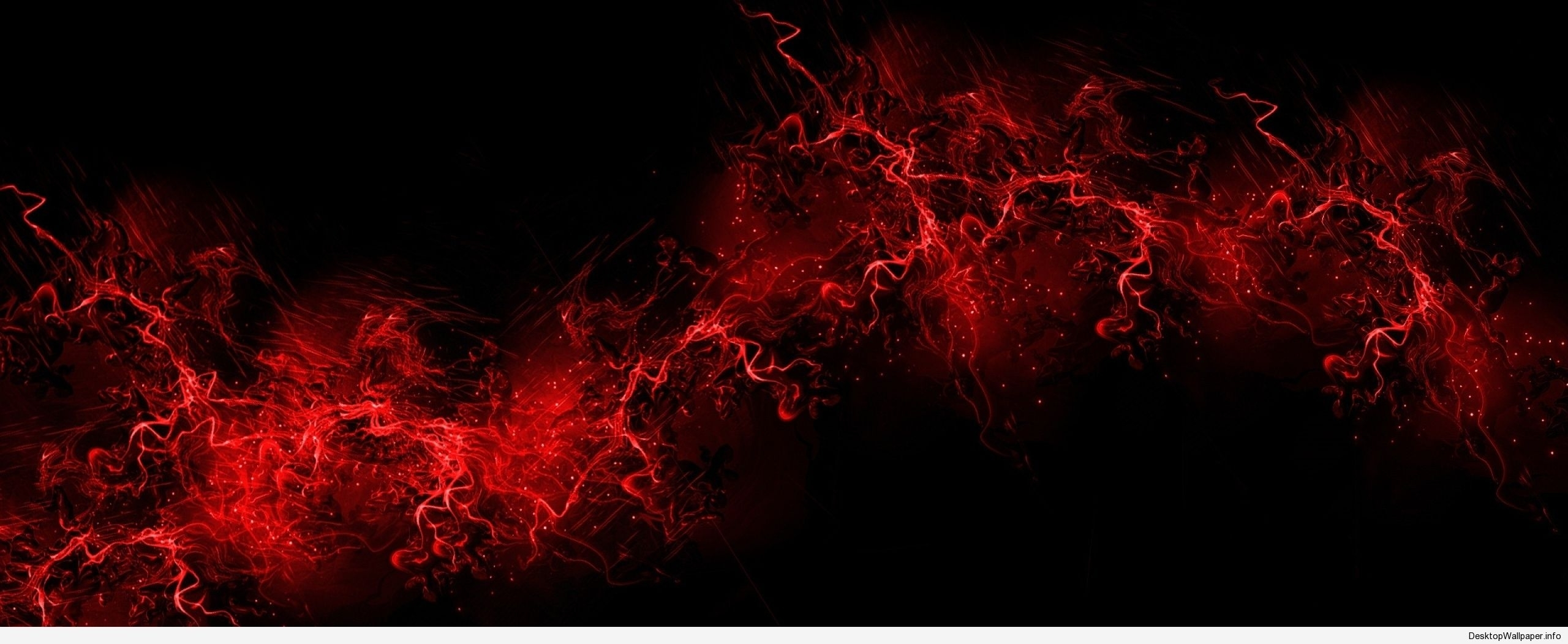 black and red dual monitor wallpaper - http://desktopwallpaper