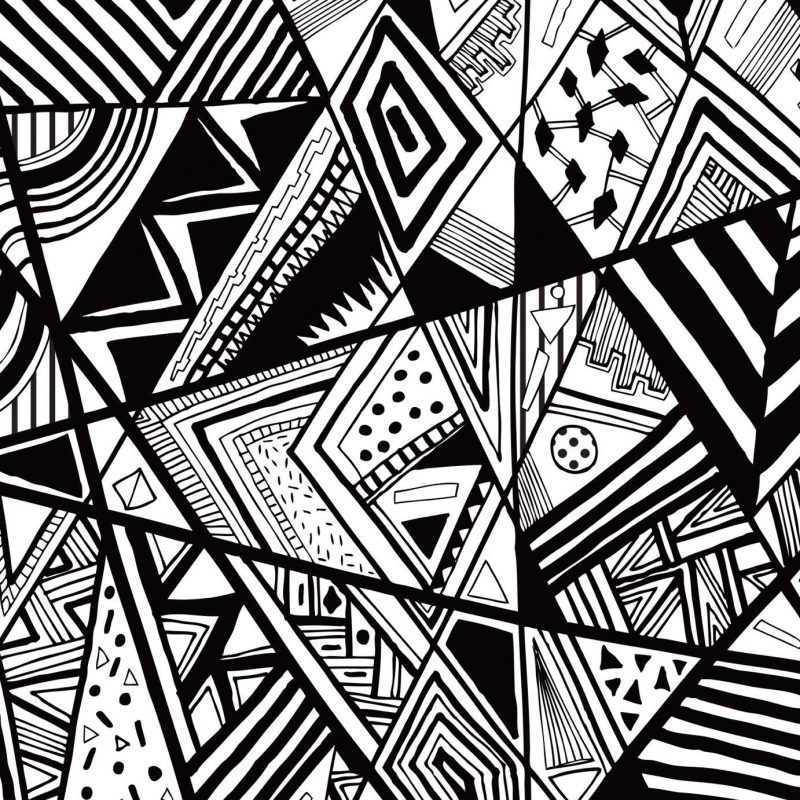 10 Most Popular Wallpaper Black And White Abstract FULL HD