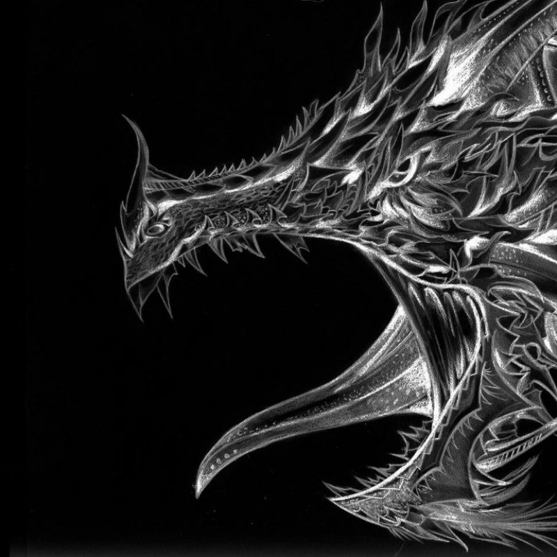 10 Latest Black And White Dragon Wallpaper FULL HD 1080p For PC Desktop 2018 free download black and white dragon wallpaper and background image 1366x768 800x800