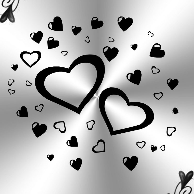 10 Top Black And White Hearts Wallpaper FULL HD 1080p For PC Background 2018 free download black and white heart wallpaper 55 images 800x800