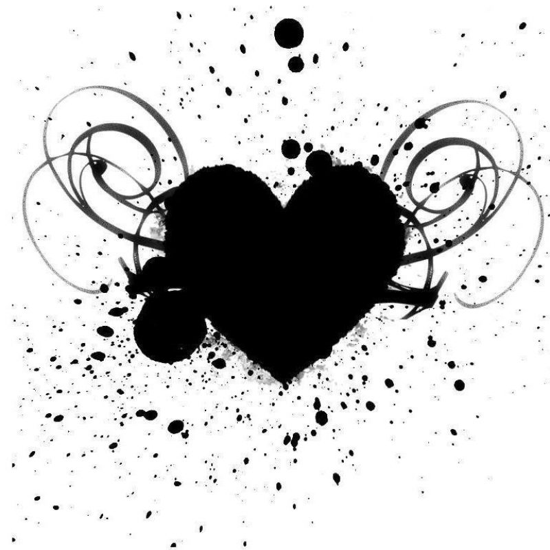 10 Top Black And White Hearts Wallpaper FULL HD 1080p For PC Background 2018 free download black and white heart wallpapers wallpaper cave 800x800