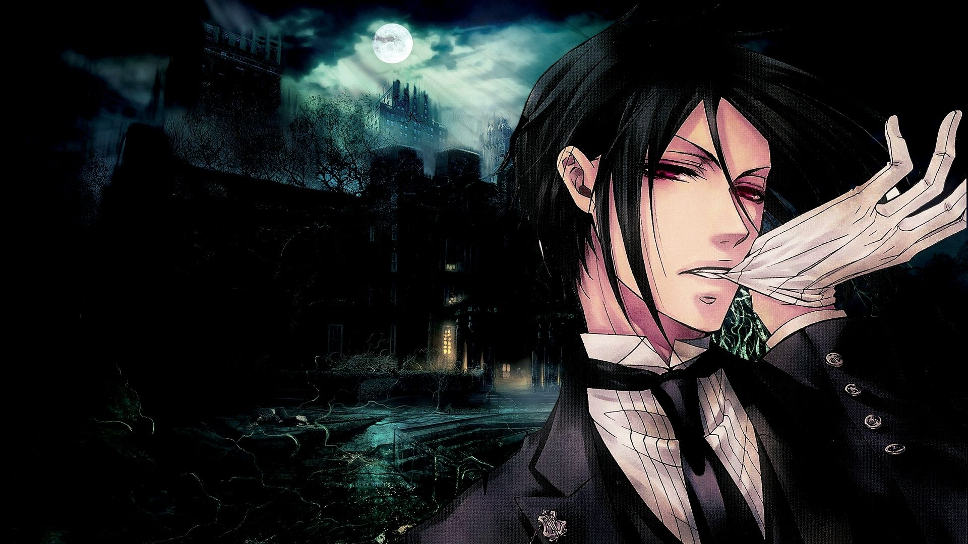 black butler sebastian michaelis wallpapers hd. | black butler
