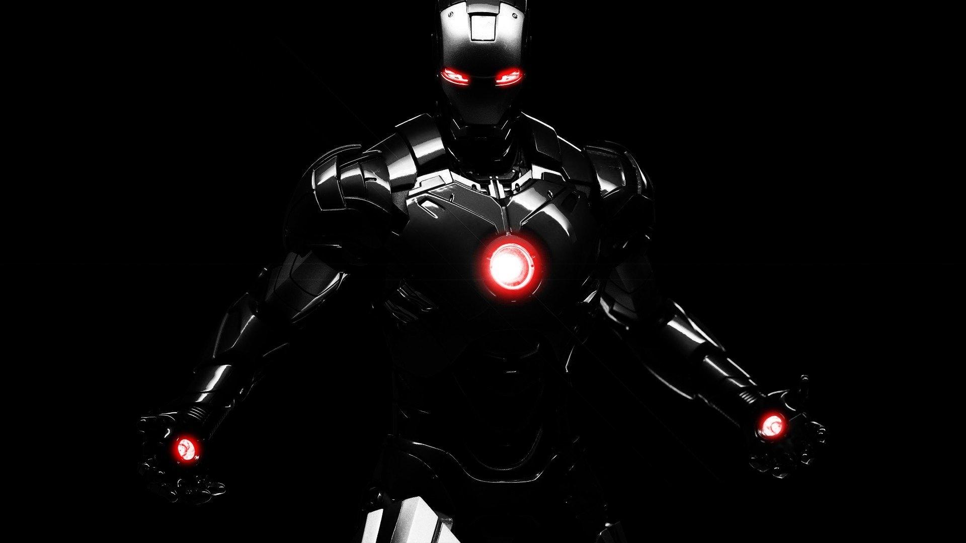 black iron man best hd wallpapers - wallpapersfans