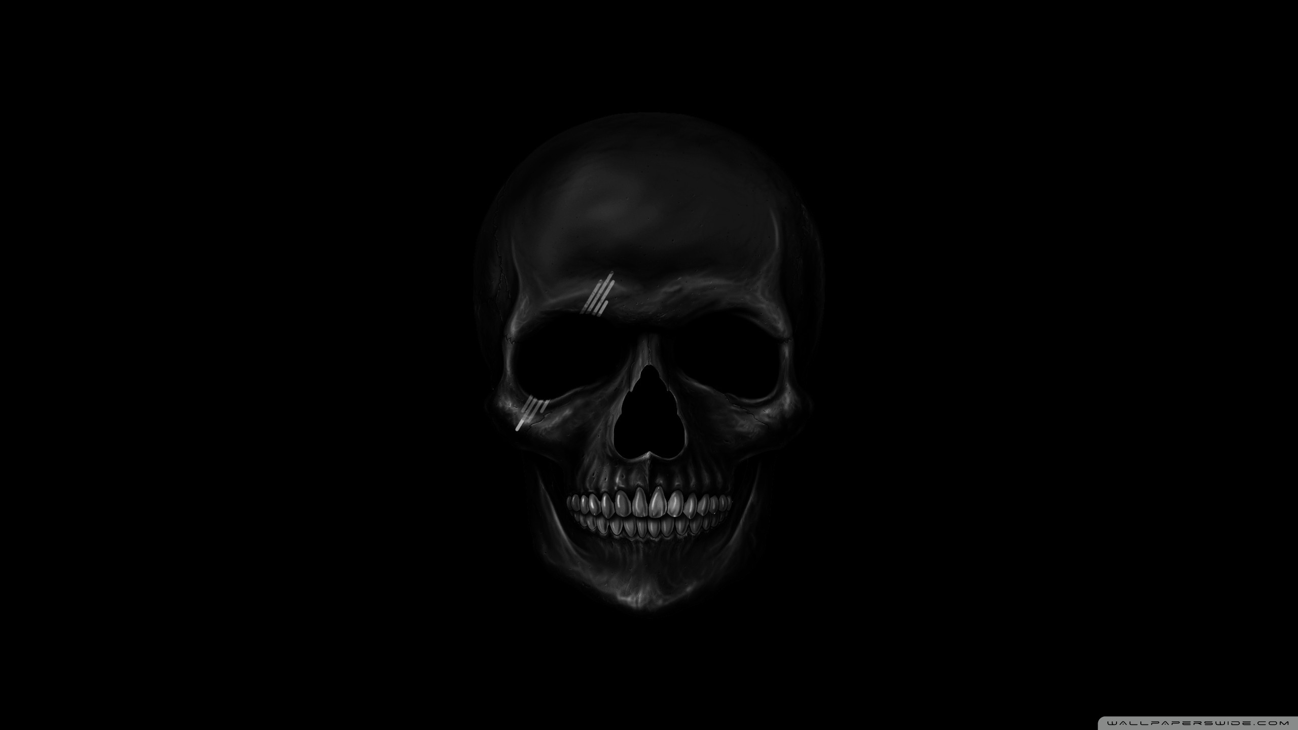 black skull ❤ 4k hd desktop wallpaper for 4k ultra hd tv • dual