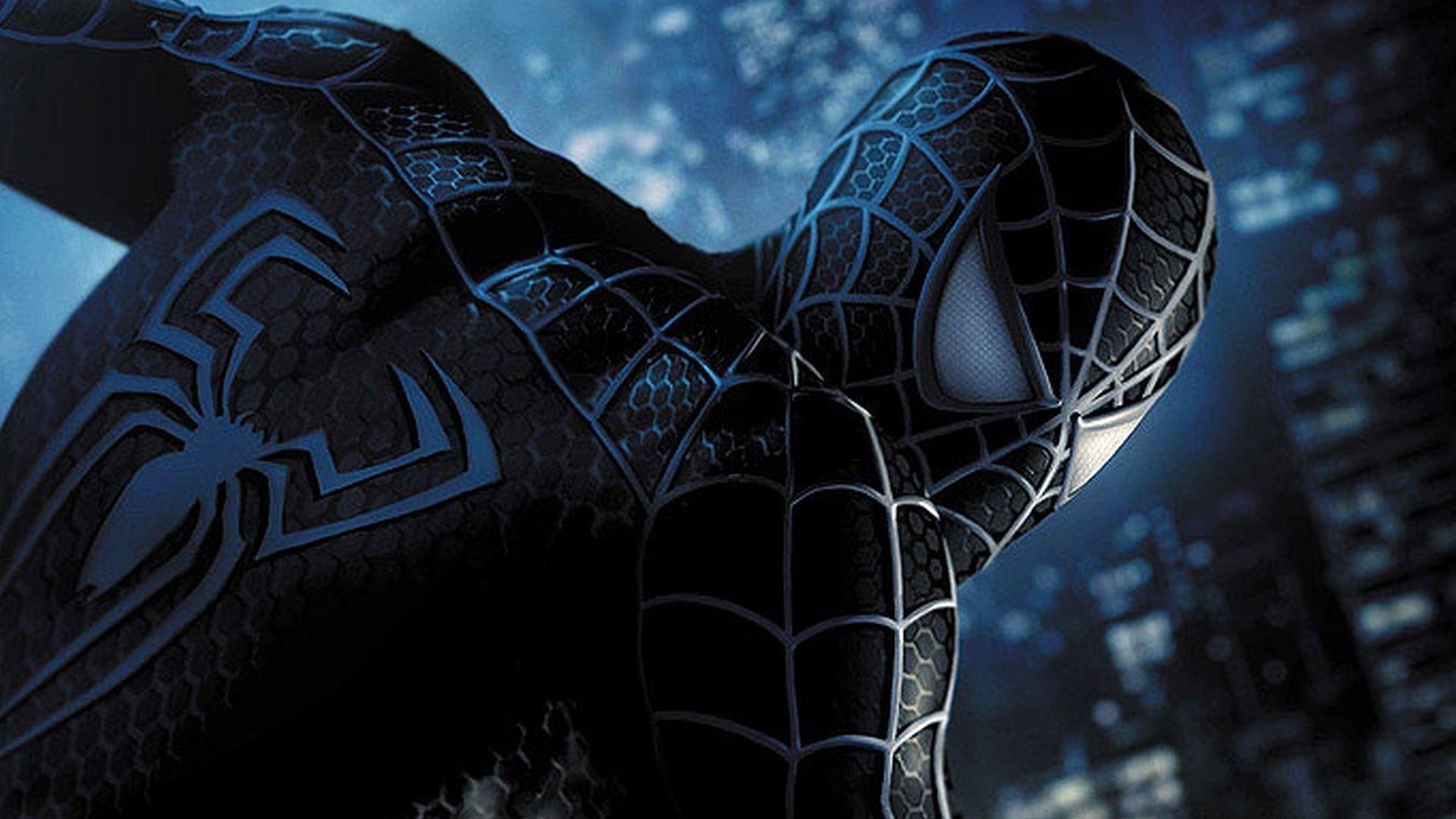 10 Latest Pictures Of The Black Spiderman FULL HD 1920×1080 For PC Desktop