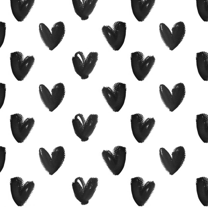 10 Best Cute Black And White Wallpapers FULL HD 1920×1080 For PC Desktop 2020 free download black white watercolour hearts iphone background wallpaper phone 2 800x800
