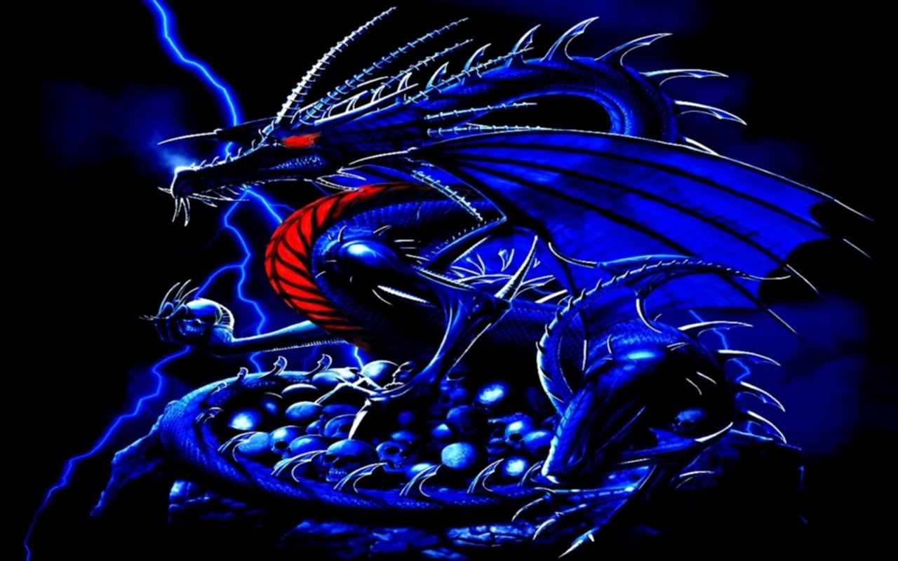 blue dragon wallpaper | hd wallpapers