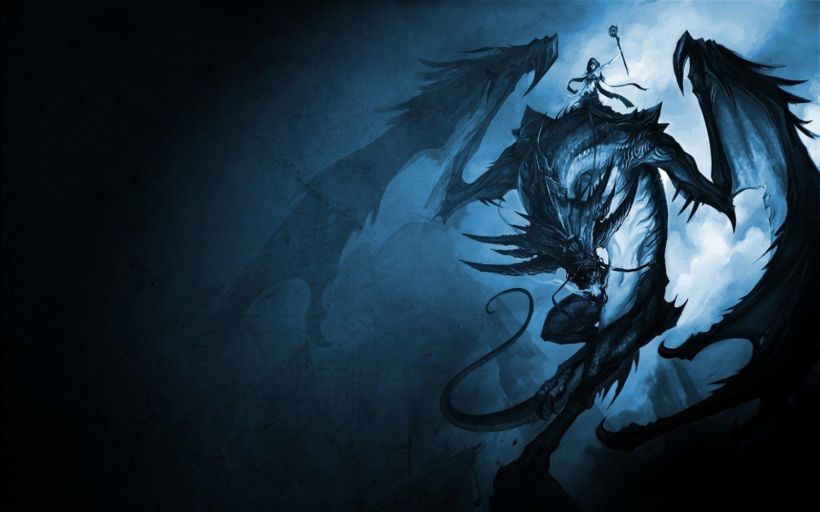 blue dragon wallpapers - wallpaper cave