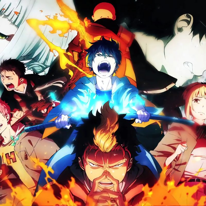 10 Top Blue Exorcist Wallpaper Hd FULL HD 1920×1080 For PC Background 2020 free download blue exorcist 4k ultra hd fond decran and arriere plan 3840x2160 800x800