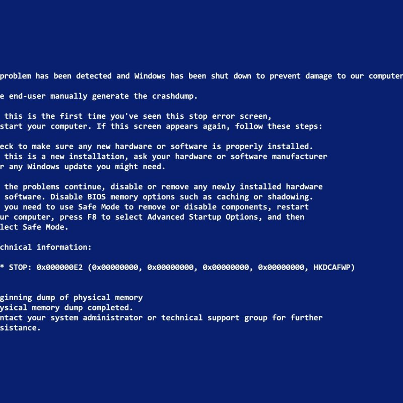 10 Top Blue Screen Of Death Desktop Background FULL HD 1080p For PC Desktop 2018 free download blue screen of death wallpapers for april fools day hongkiat 800x800