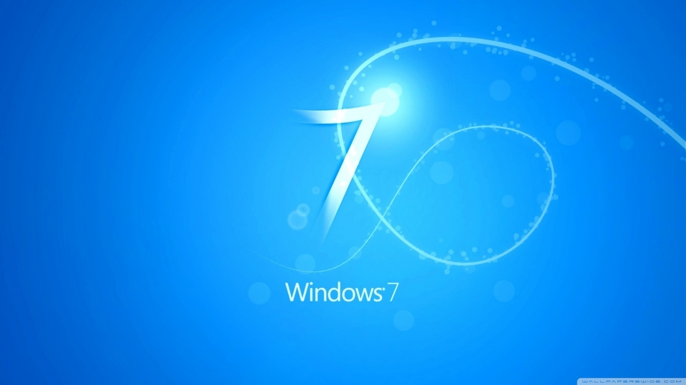 blue windows 7 background ❤ 4k hd desktop wallpaper for 4k ultra hd