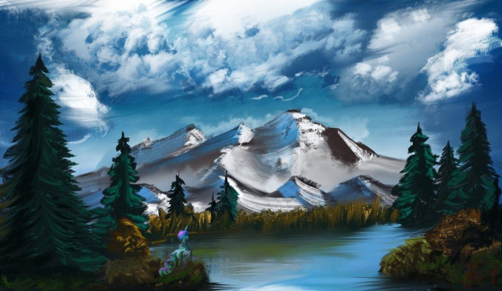 10 Most Popular Bob Ross Paintings Wallpaper FULL HD 1080p For PC Background 2018 free download bob ross challenge episode 2alumx on deviantart 1024x594