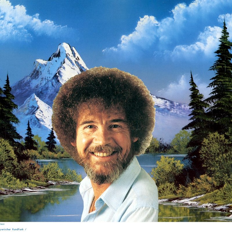 10 Top Bob Ross Desktop Wallpaper FULL HD 1080p For PC Background 2018 free download bob ross full hd wallpaper and background image 2362x1844 id79722 800x800