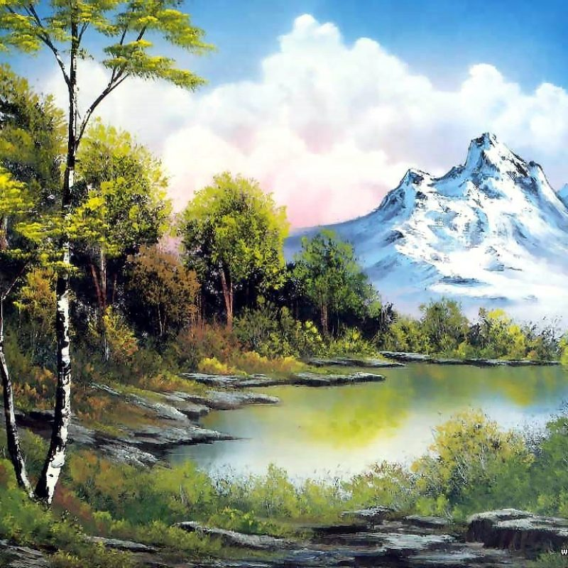 10 Top Bob Ross Desktop Wallpaper FULL HD 1080p For PC Background 2018 free download bob ross paintings bob ross oil paintings landscape paintings 800x800