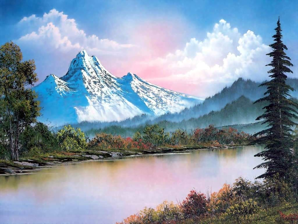 10 Most Popular Bob Ross Paintings Wallpaper FULL HD 1080p For PC Background 2018 free download bob ross wallpapers wallpaper cave 2 1024x768