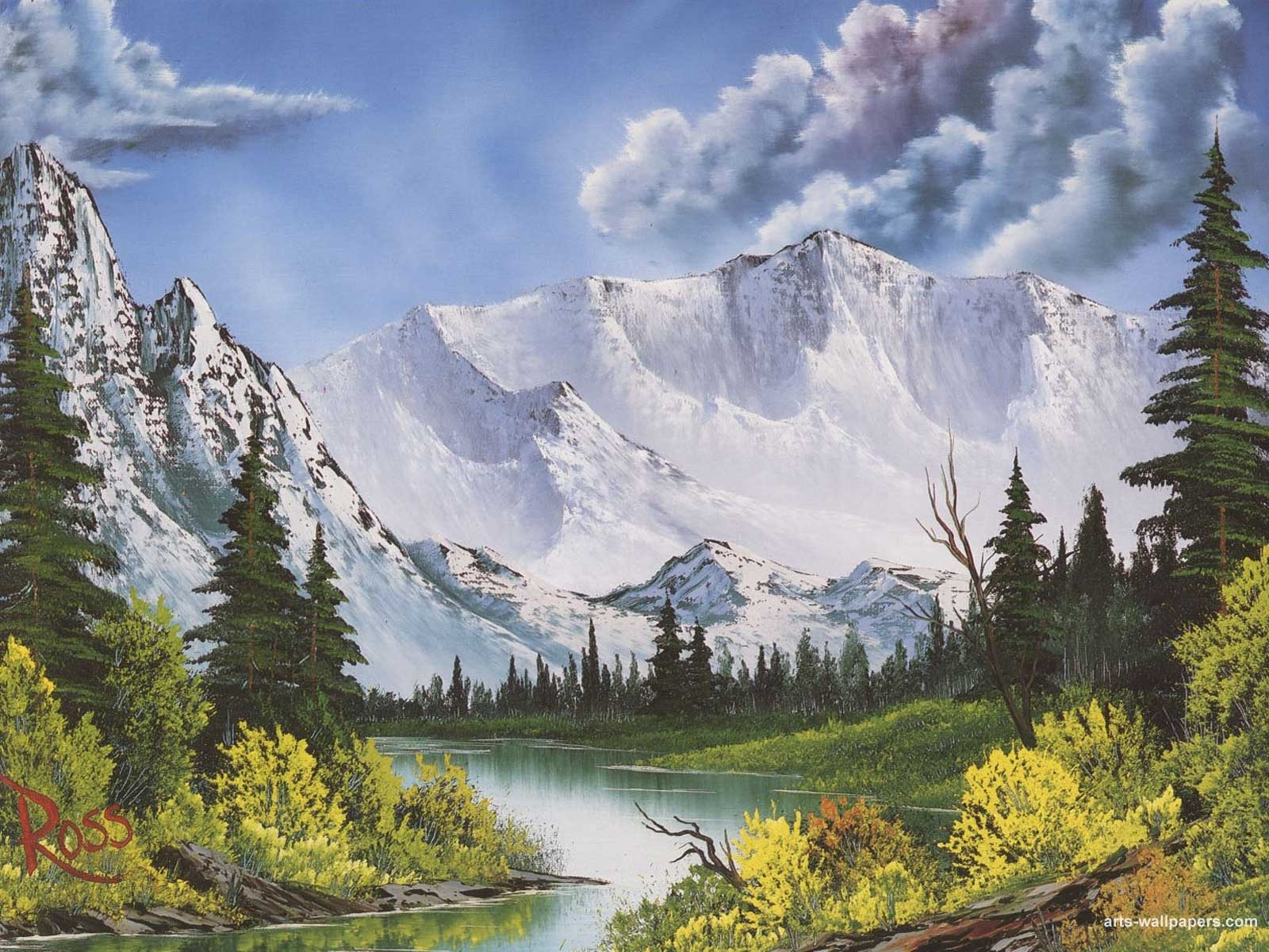 bob ross wallpapers - wallpaper cave