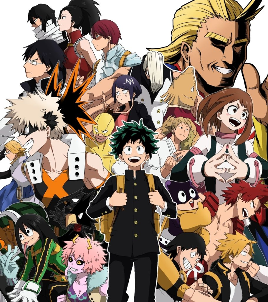 10 Best My Hero Academia Background FULL HD 1920×1080 For PC Desktop 2018 free download boku no hero academia images boku no hero academia hd wallpaper 910x1024