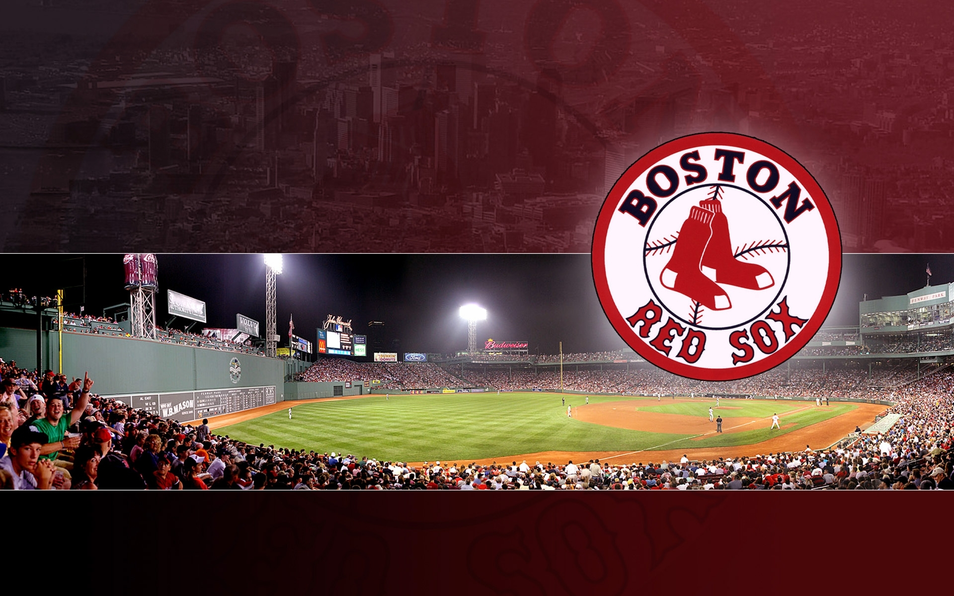 10 Top Red Sox Screen Backgrounds FULL HD 1920×1080 For PC Desktop