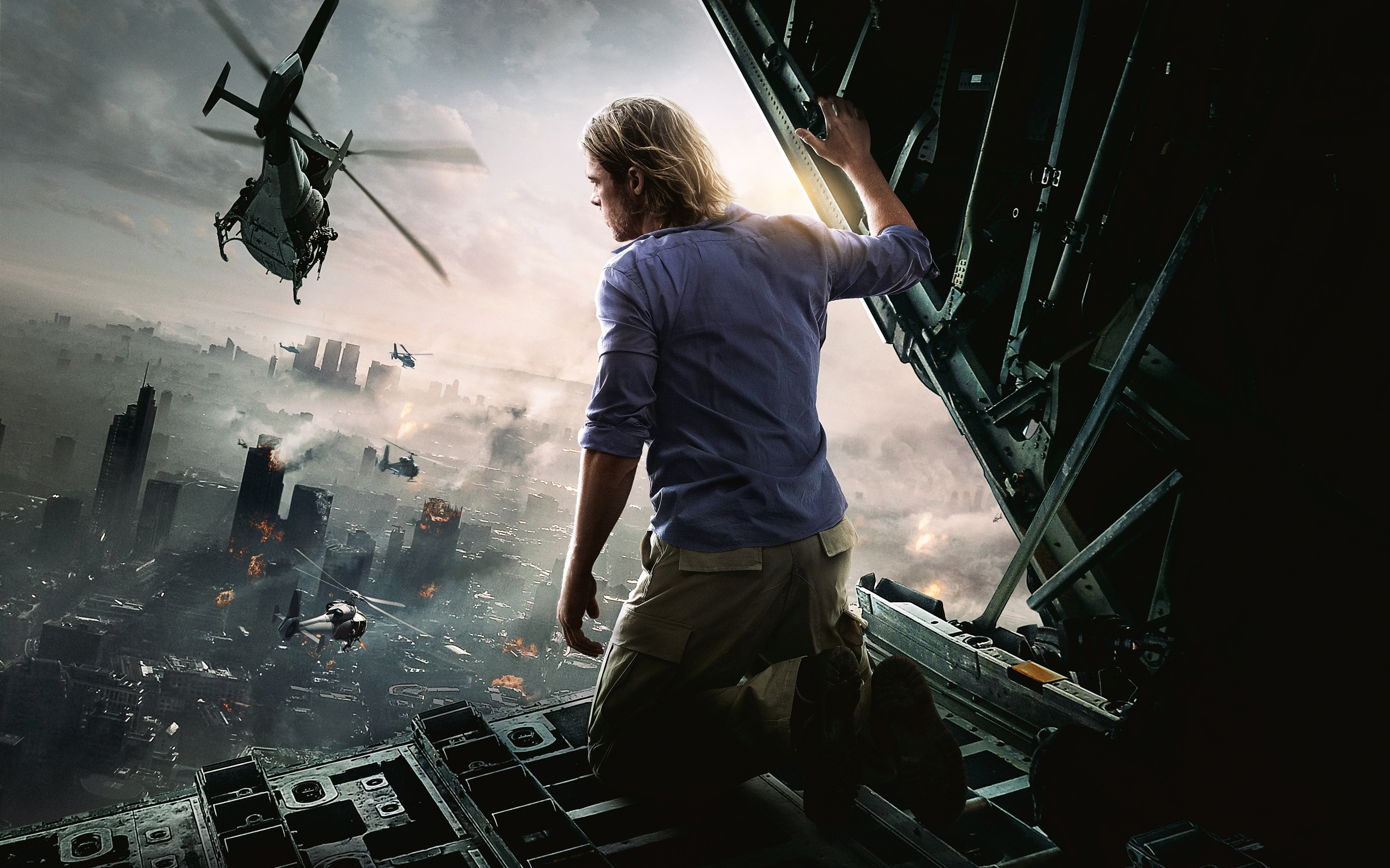 brad pitt world war z movie wallpapers | hd wallpapers | id #12455