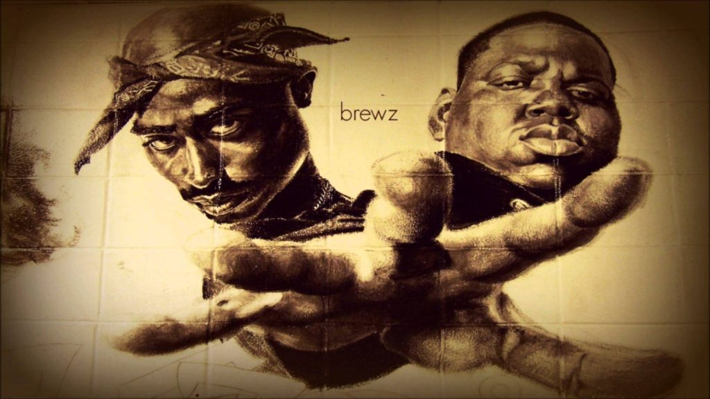 10 Most Popular Tupac And Biggie Wallpaper FULL HD 1080p For PC Background 2018 free download brewz 2pac and notorious b i g coast to coast mix youtube 1024x576