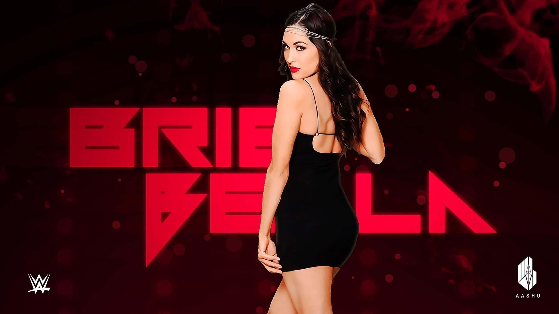 brie bella - custom entrance video (heel) - youtube