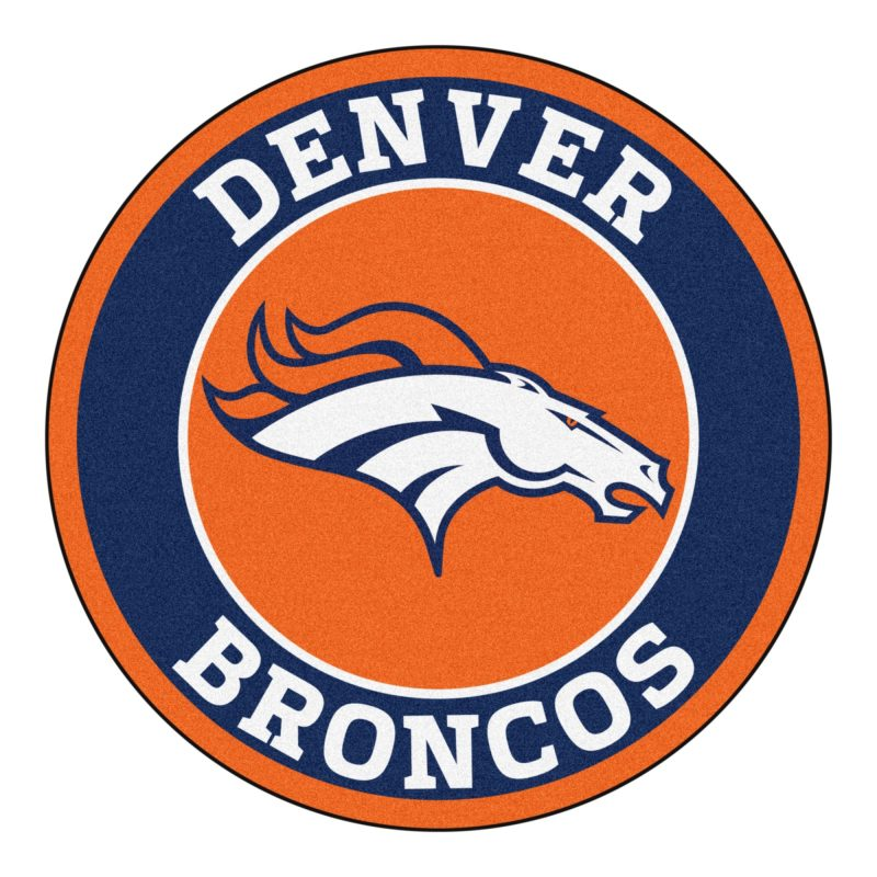 10 Best Denver Broncos Logo Pics FULL HD 1920×1080 For PC Desktop 2018 free download broncos roundel area rug 27 800x800