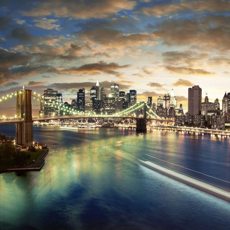 10 New Hd City Skyline Wallpapers FULL HD 1080p For PC Desktop 2020 free download brooklyn bridge night skyline photography wall 2366 wallpaper dexab 800x800