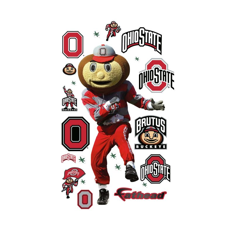 10 Top Ohio State Buckeyes Image FULL HD 1080p For PC Background 2018 free download brutus buckeye ohio state buckeye mascot wall decal shop fathead 800x800