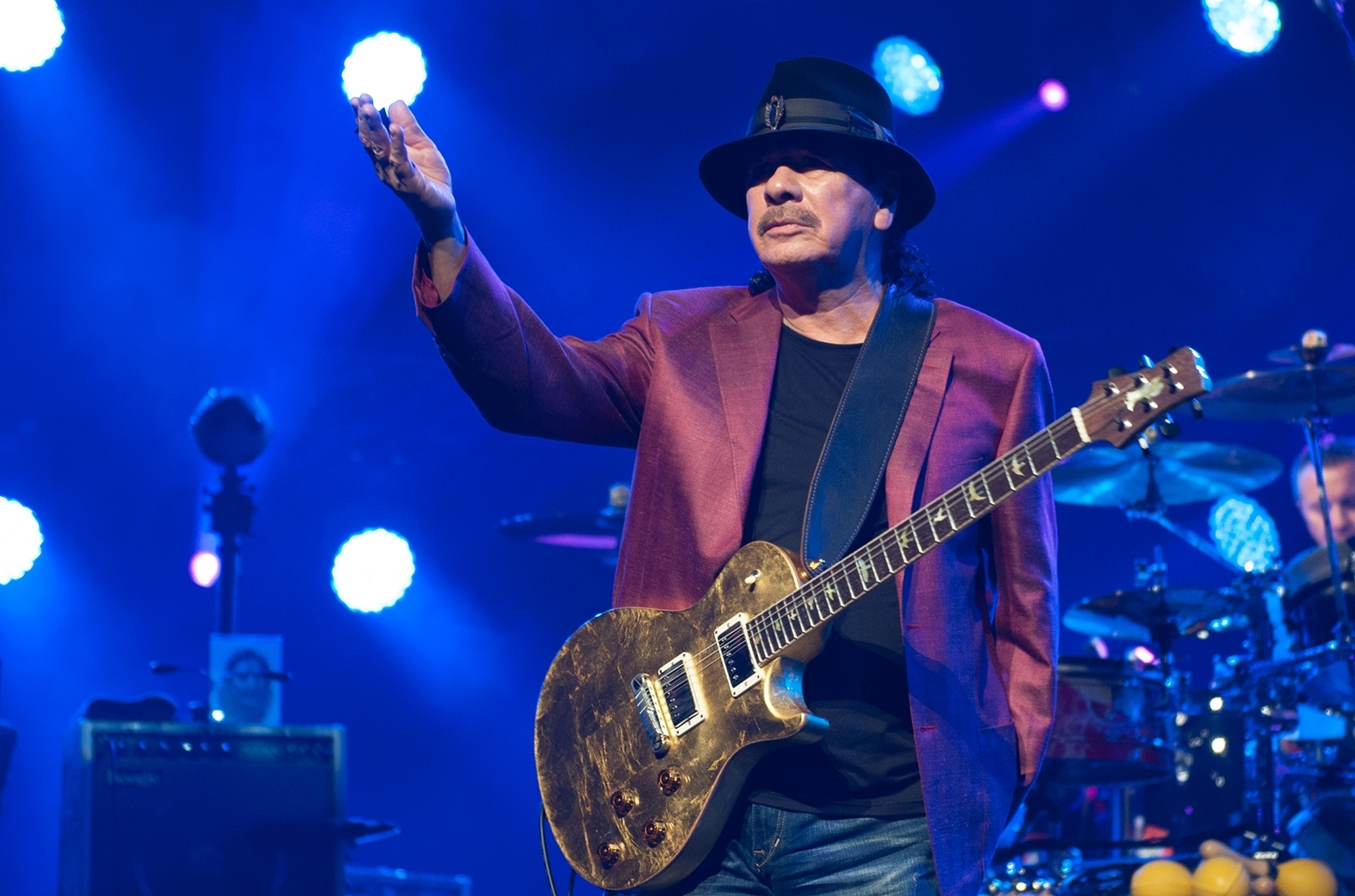 carlos santana on las vegas shooting: 'why allow weapons of mass