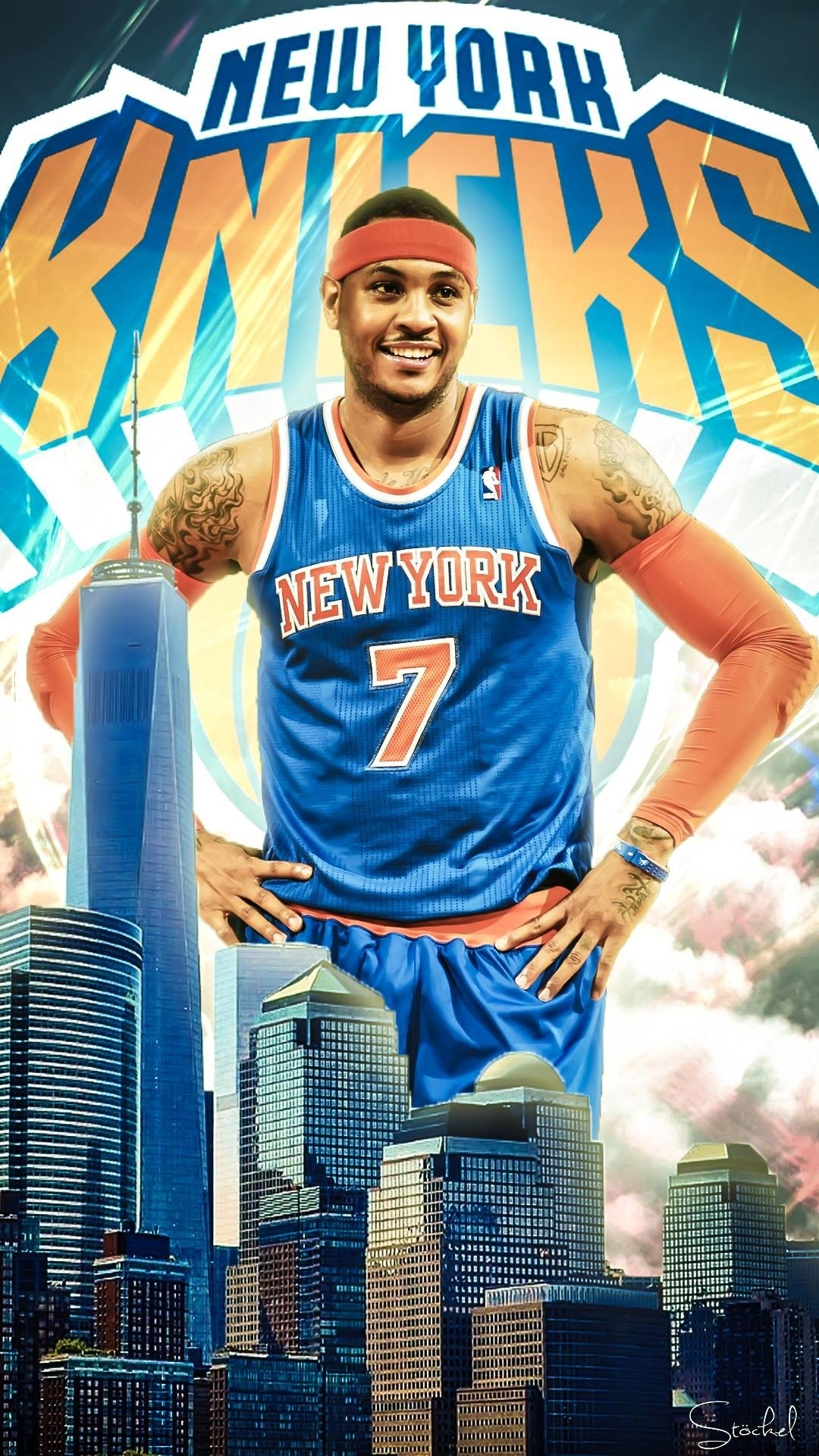 carmelo anthony iphone wallpaper (61+ images)