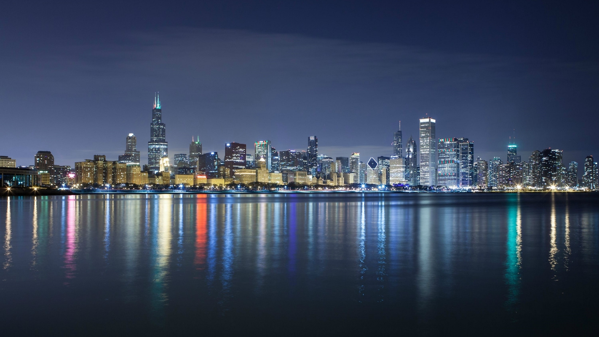 chicago skyline wallpaper 1920x1080 (74+ images)