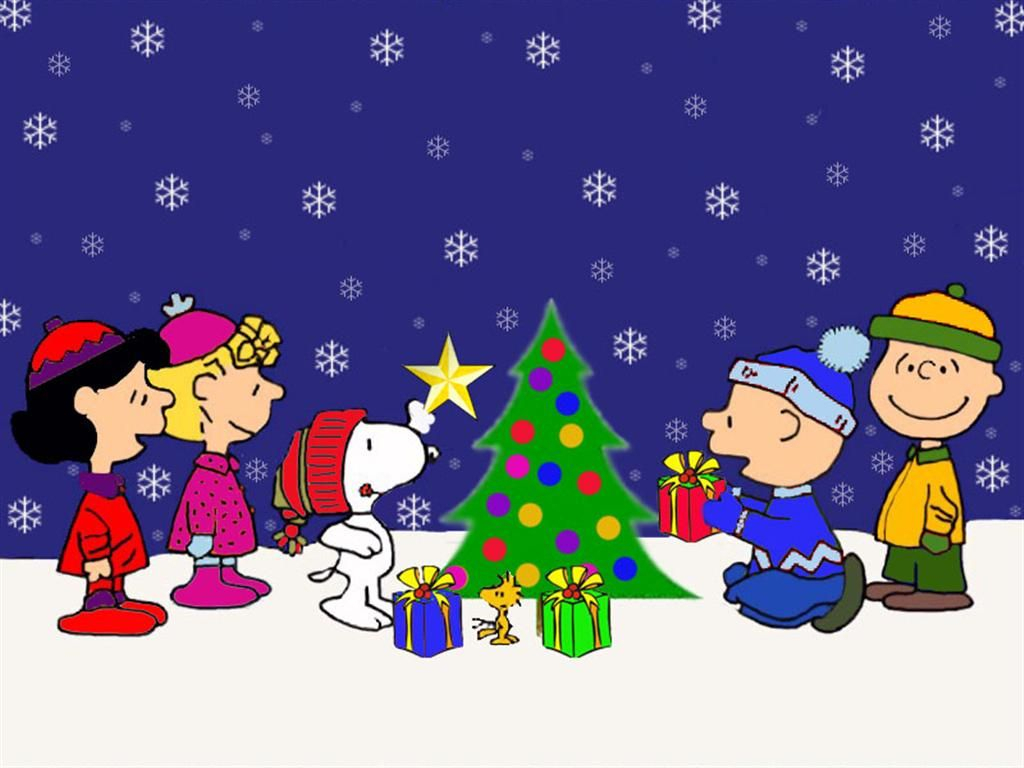 christmas backgrounds | charlie brown christmas background | full