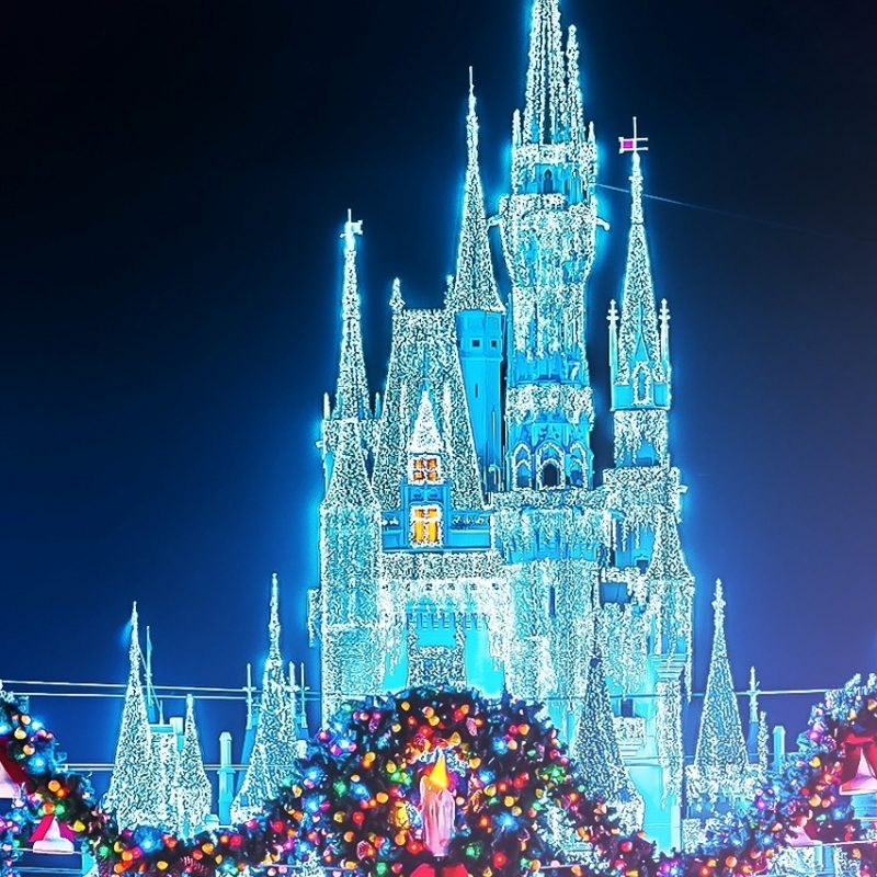 10 Top Disney Christmas Wallpaper Iphone FULL HD 1920×1080 For PC Background 2020 free download christmas disney magic kingdom castle with the wreaths photographer 800x800