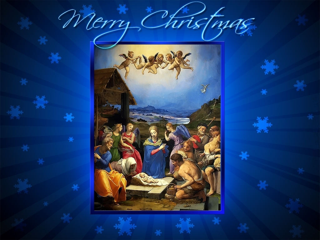 christmas jesus desktop screensavers | jesus and christmas - merry