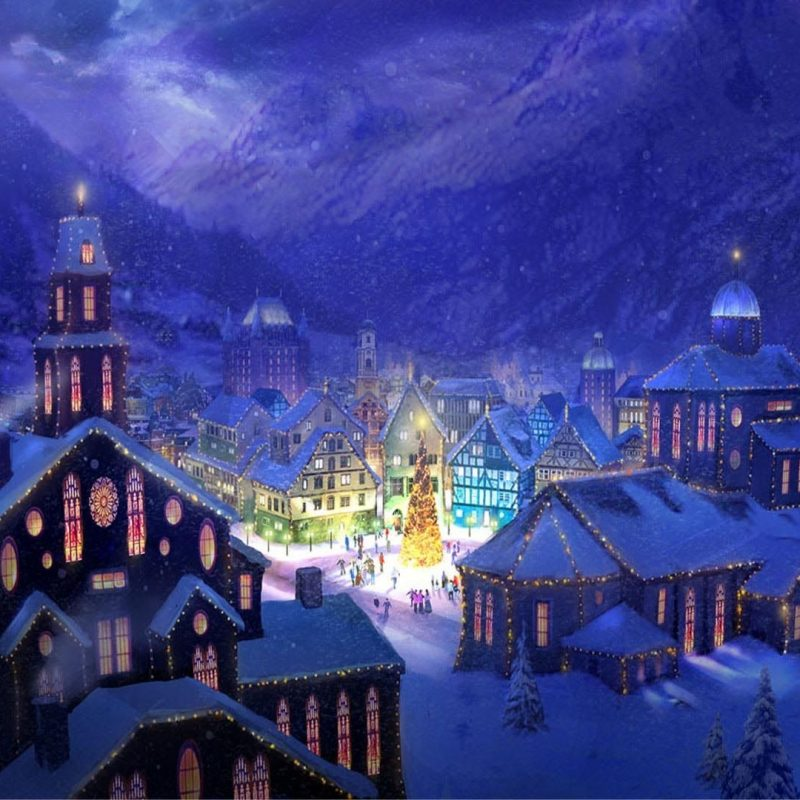 10 New Christmas Town Desktop Wallpaper FULL HD 1920×1080 For PC Background 2018 free download christmas landscapes christmas village square hd wallpaper 800x800
