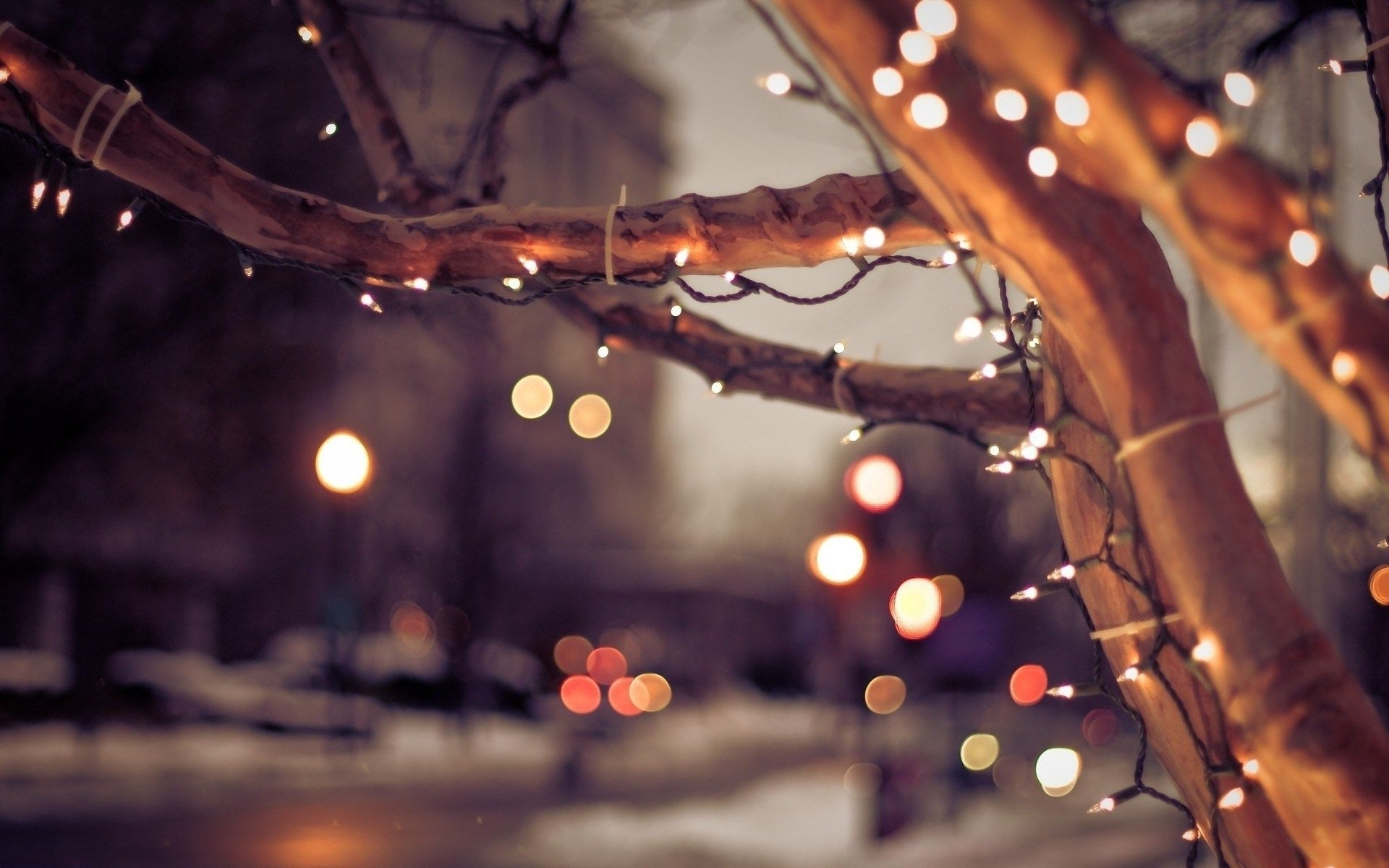 10 Top Christmas Lights Computer Wallpaper FULL HD 1920×1080 For PC Background