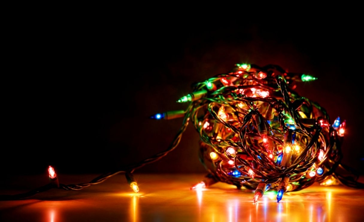 christmas lights desktop wallpaper | image wallpapers hd