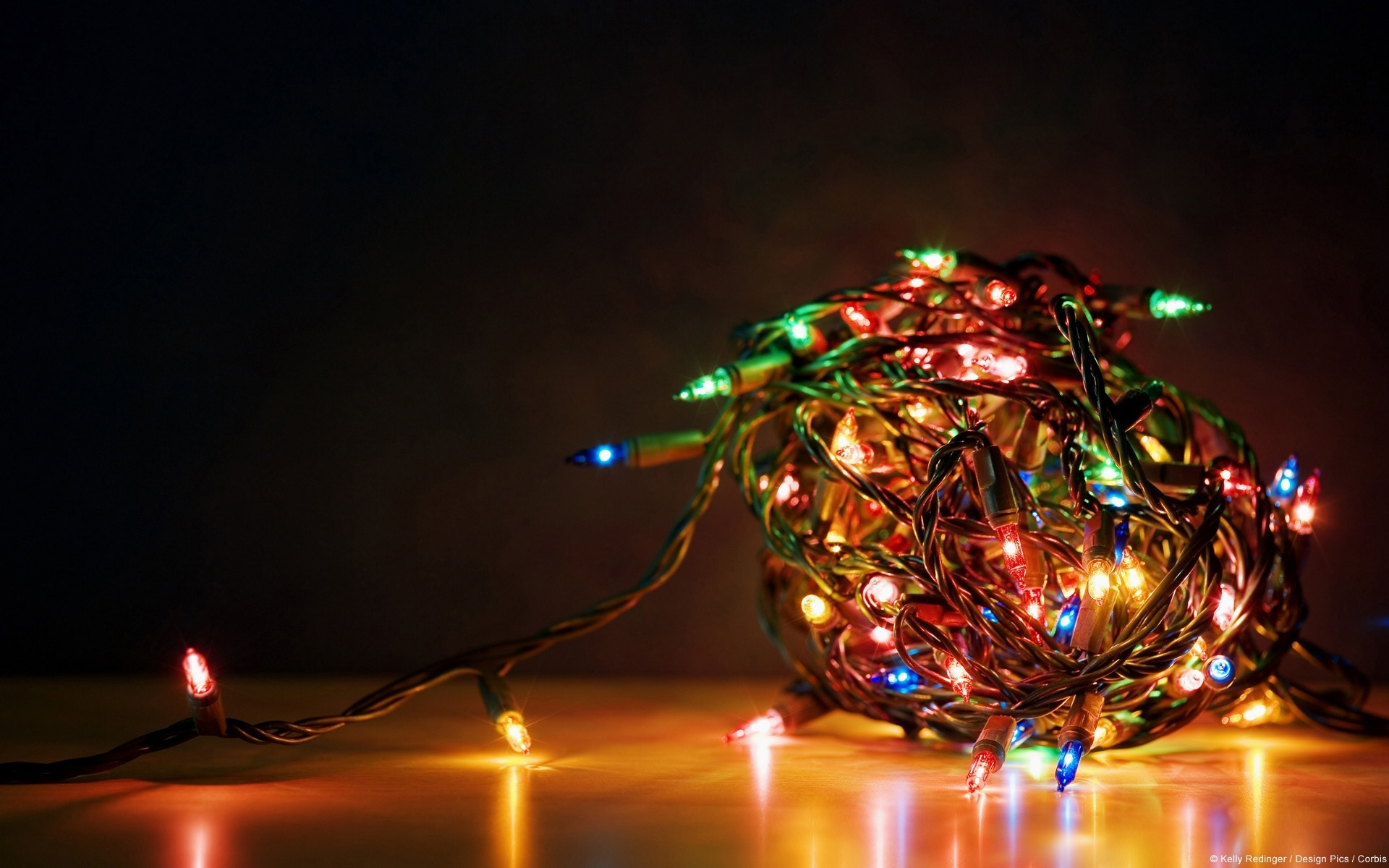 christmas lights - desktop wallpapers