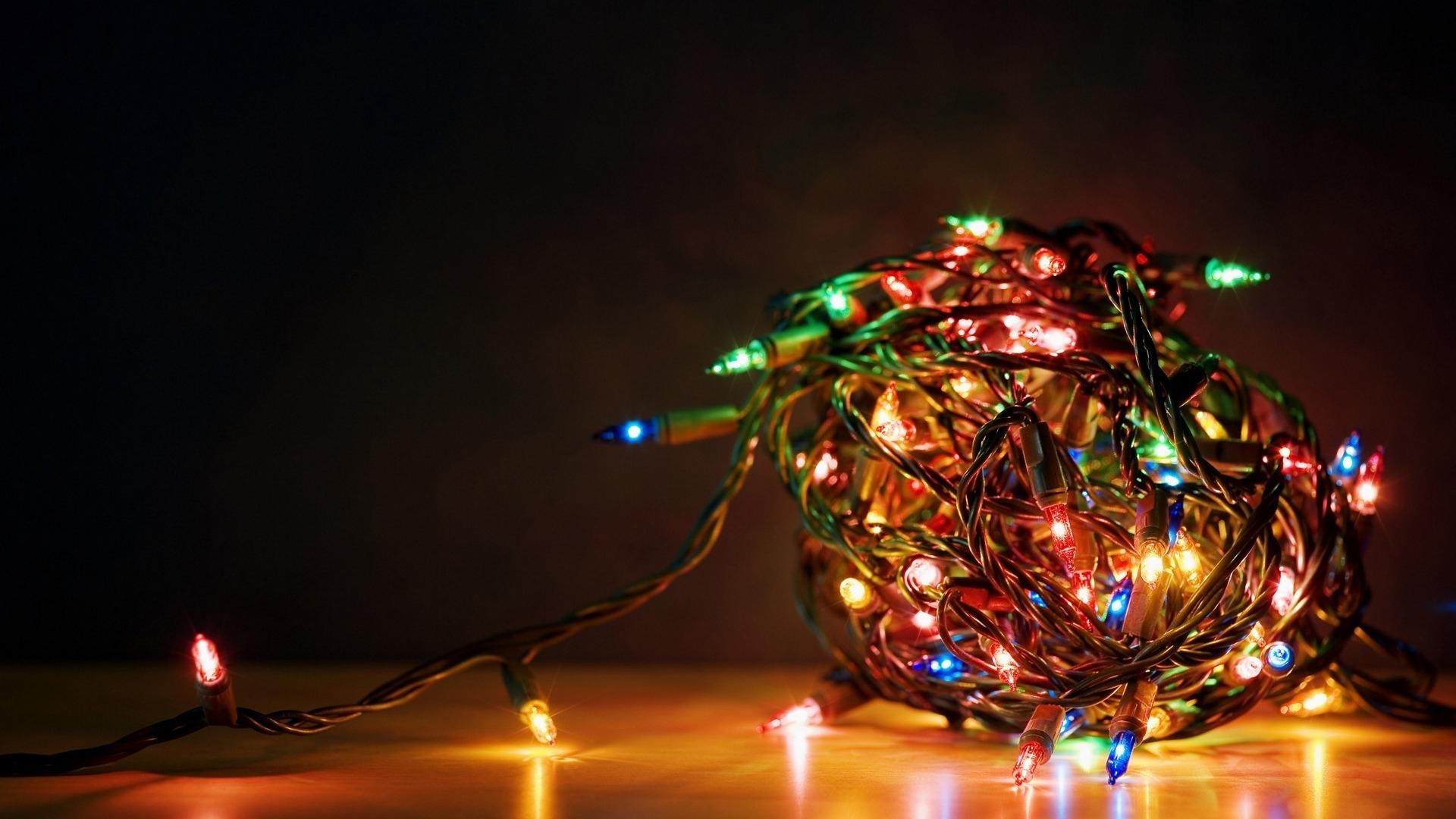 christmas lights wallpapers. - media file | pixelstalk