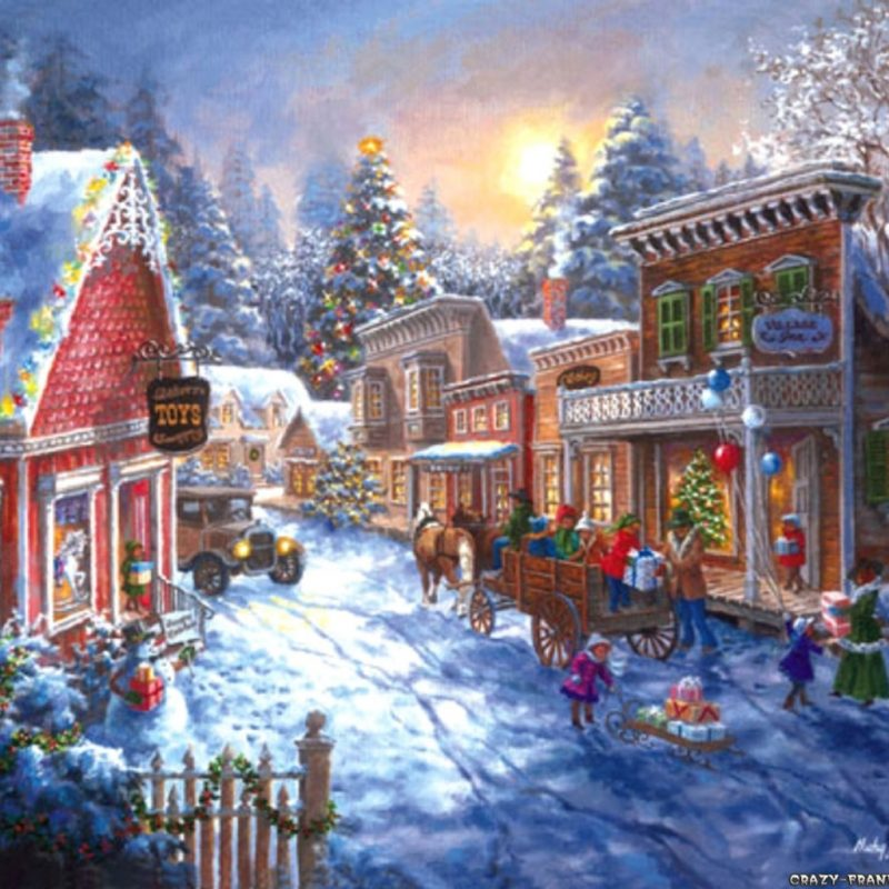 10 New Christmas Town Desktop Wallpaper FULL HD 1920×1080 For PC Background 2018 free download christmas scenes wallpaper christmas town scene desktop 1 800x800