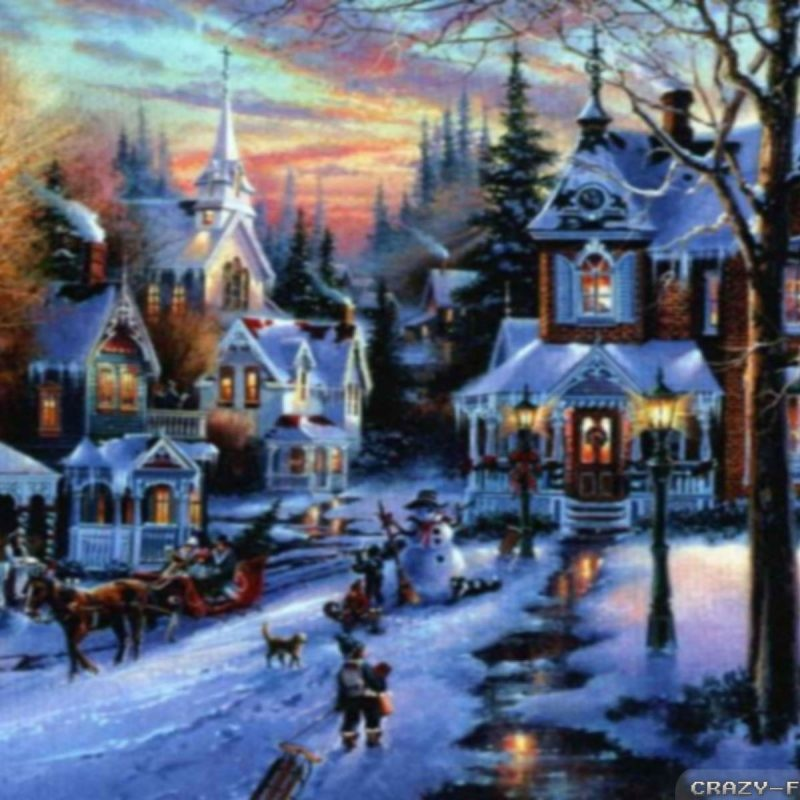 10 New Christmas Town Desktop Wallpaper FULL HD 1920×1080 For PC Background 2018 free download christmas village wallpapers 2 crazy frankenstein 800x800