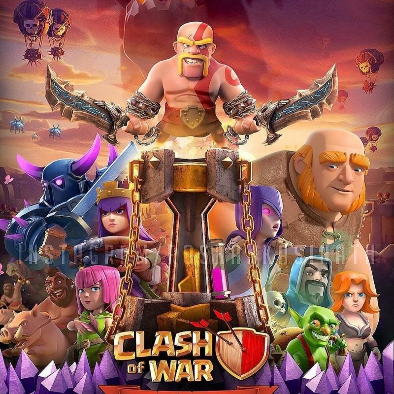 10 Latest Clash Of Clans Photo FULL HD 1920×1080 For PC Desktop 2018 free download clash of clans clash pinterest jeux videos les jeux videos et 800x800