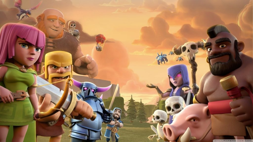 10 Best Clash Of Clans Wallpapers Hd FULL HD 1080p For PC Background 2018 free download clash of clans e29da4 4k hd desktop wallpaper for 4k ultra hd tv 1024x576