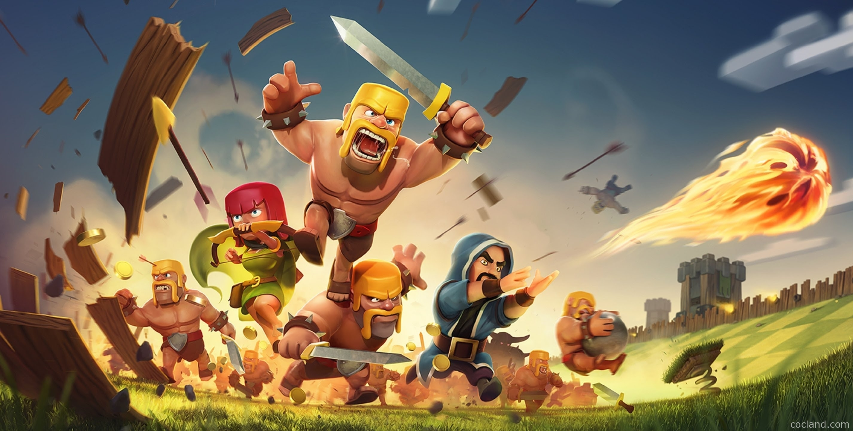 clash of clans wallpaper hd | fotolip rich image and wallpaper