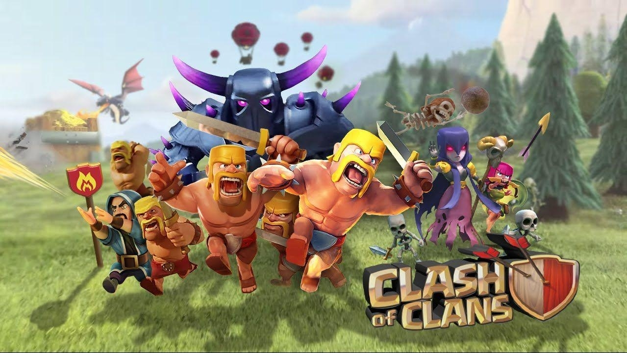 10 Best Clash Of Clans Wallpaper FULL HD 1080p For PC Desktop