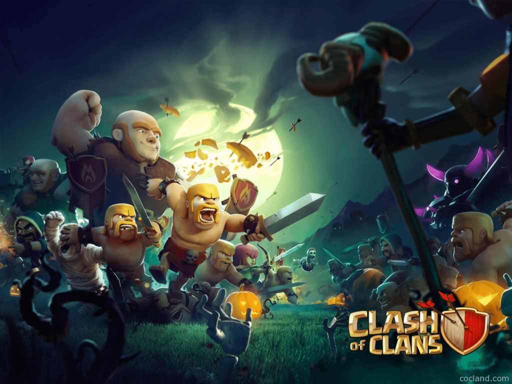 10 Best Clash Of Clans Wallpapers Hd FULL HD 1080p For PC Background 2018 free download clash of clans wallpapers wallpaper cave 1024x768