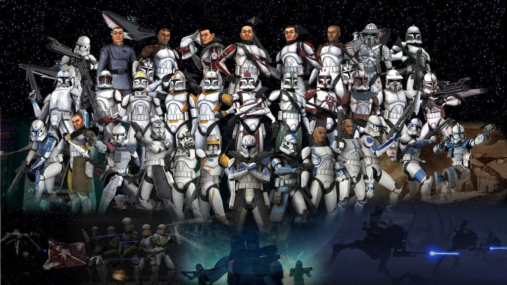 10 New Star Wars Clone Army Wallpaper FULL HD 1080p For PC Background 2018 free download clone troopers wallpapervolkrex on deviantart 1024x576